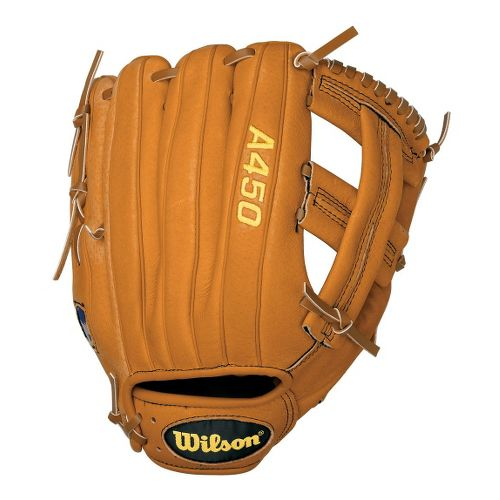 Wilson A450 All Positions Baseball Glove 11.5 Inches Fitness Equipment - Tan Right
