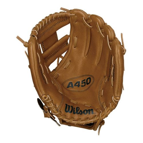 Wilson A450 All Positions Baseball Glove 10.75 Inches Fitness Equipment - Tan Right