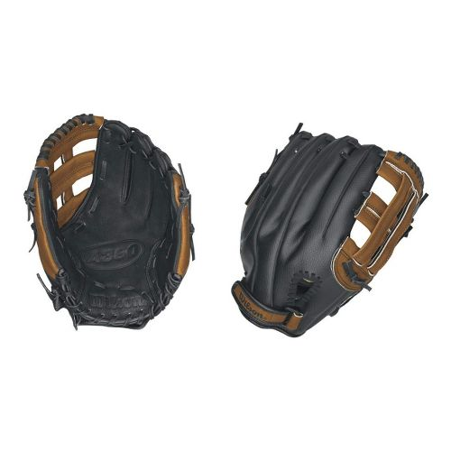 Wilson A360 All Positions Baseball Glove 11.5 Inches Fitness Equipment - Black/Brown Right