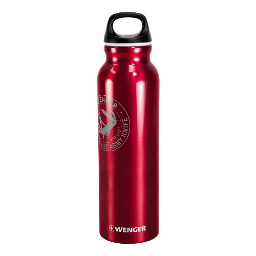Wenger 800ml Aluminum Bottle Hydration - Red