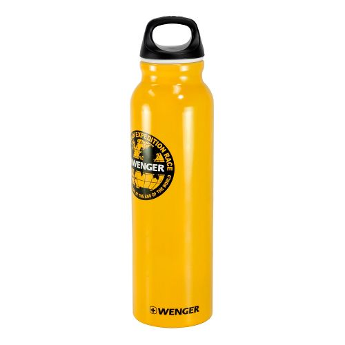 Wenger 800ml Aluminum Bottle Hydration - Yellow