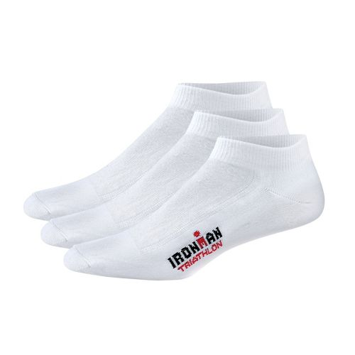Wigwam Triathlete Low Sock 3 pack - White M