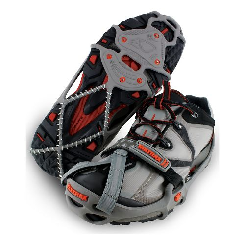 Yaktrax RUN Safety - Grey/Red L