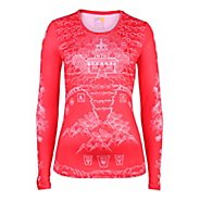 Womens YMX Core Long Sleeve No Zip Technical Tops