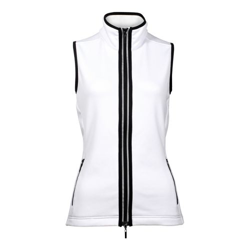 Womens YMX Contour Running Vests - White L