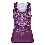Womens YMX Scoop Neck Tanks Technical Tops