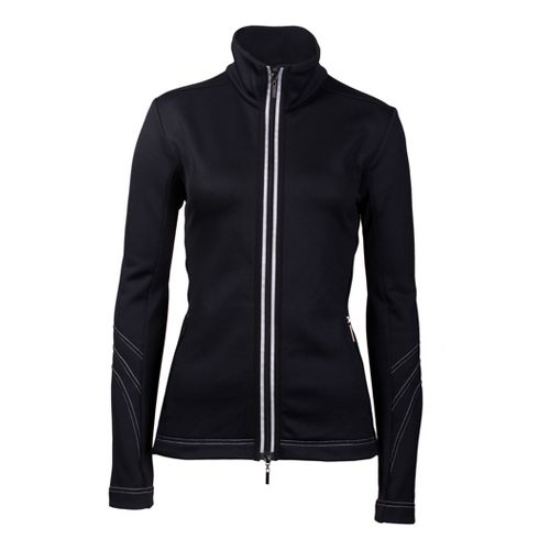 Womens YMX Contour Running Jackets - Black XS