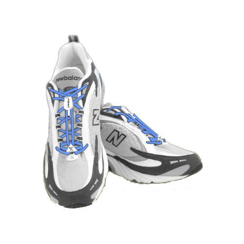 Sporting Innovations Yankz Sure Laces Fitness Equipment - Baby Blue