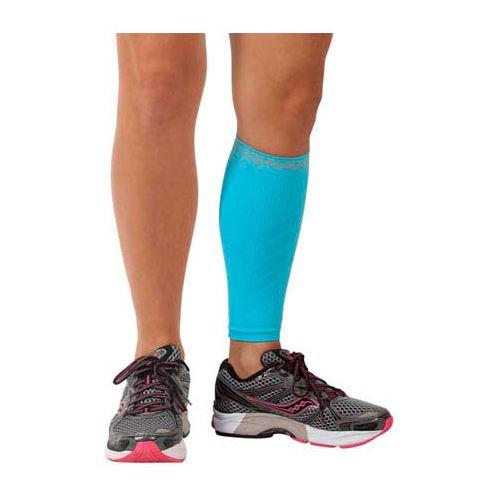 Zensah Shin/Calf Support Compression Sleeve Injury Recovery - Aqua S/M