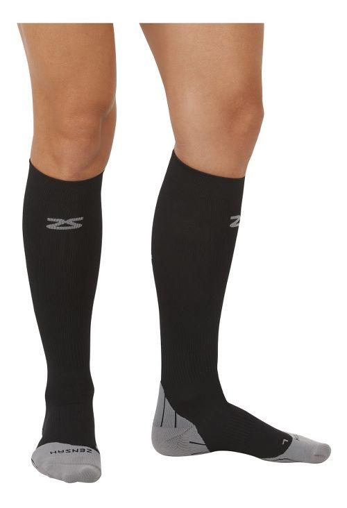 Zensah Tech+ Compression Socks Injury Recovery - Black S