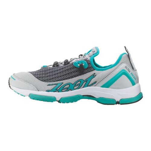 Womens Zoot Ultra Tempo 5.0 Running Shoe - Teal/Grey 6.5