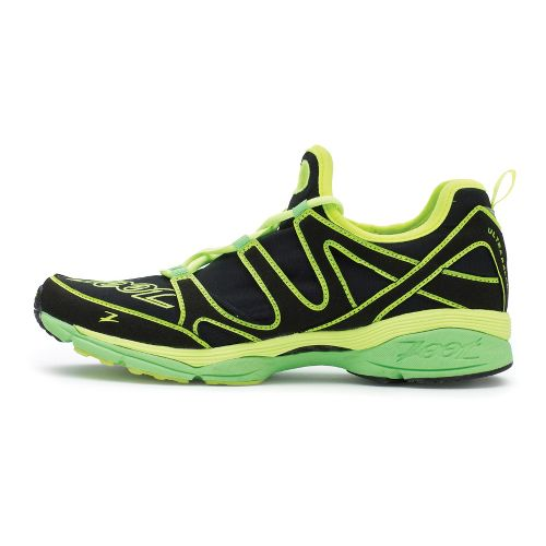 Mens Zoot Ultra Kalani 3.0 Running Shoe - Black/Green 11.5