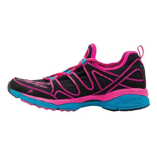 Womens Zoot Ultra Kalani 3.0 Running Shoe - Black/Pink 9