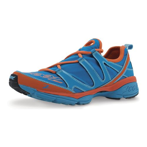 Womens Zoot Ultra Kalani 3.0 Running Shoe - Splash/Flame 10.5