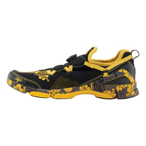 Mens Zoot Ali'i 6.0 Running Shoe - Black/Yellow 11