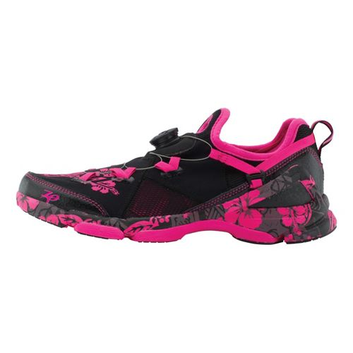 Womens Zoot Ali'i 6.0 Running Shoe - Black/Pink 10.5