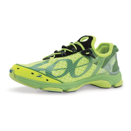 Mens Zoot Ultra Tempo 6.0 Running Shoe - Yellow/Green 10