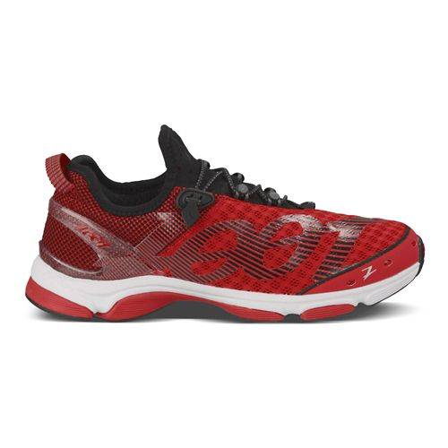 Mens Zoot Ultra Tempo 6.0 Running Shoe - Red/Black 11.5