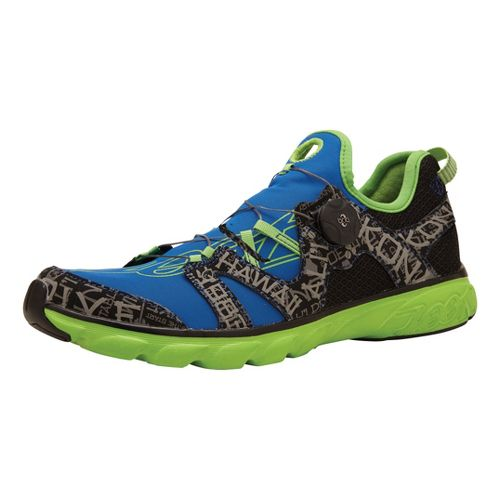 Mens Zoot Ali'i '14 Running Shoe - Blue/Green 7.5