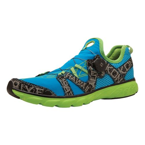 Womens Zoot Ali'i '14 Running Shoe - Turquoise/Green 10.5