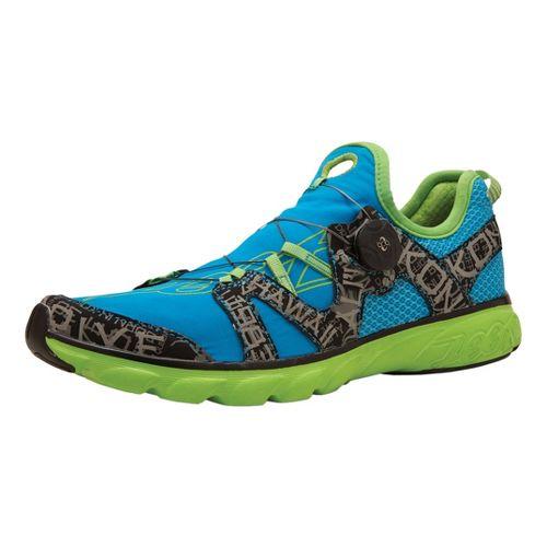 Womens Zoot Ali'i '14 Running Shoe - Turquoise/Green 11