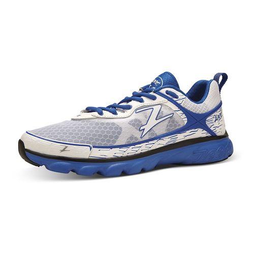 Mens Zoot Solana Running Shoe - White/Blue 7.5