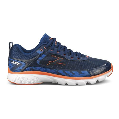 Mens Zoot Solana Running Shoe - Blue/Orange 11