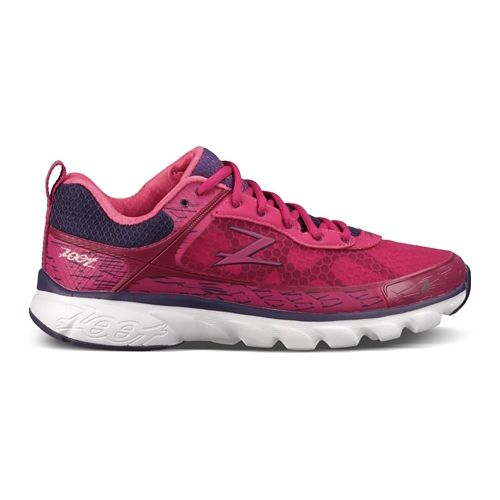 Womens Zoot Solana Running Shoe - Pink/Purple 6.5