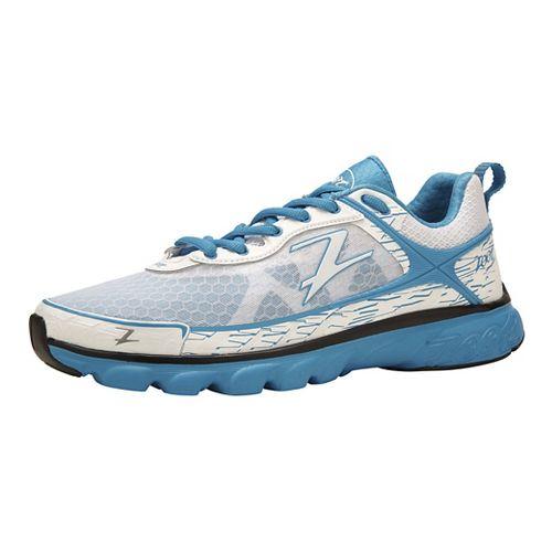 Womens Zoot Solana Running Shoe - White/Turquoise 8.5