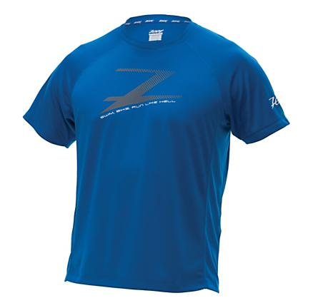 Mens Zoot Active 'Run Like Hell' Short Sleeve Technical Tops