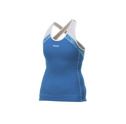 Womens Zoot Performance Hydro Tri Crossback Sport Top Bras