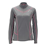 Womens Zoot Performance MICROlite plus 1/2 Zip Short Sleeve Technical Tops
