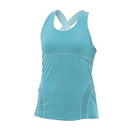 Womens Zoot Performance Run Crossback Tank Sport Top Bras