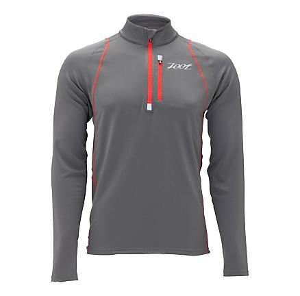 Mens Zoot Performance ThermoMegaHeat 1/2 Zip Long Sleeve 1/2 Zip Technical Tops