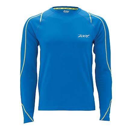 Mens Zoot Performance ThermoMegaHeat LS Top Long Sleeve No Zip Technical Tops