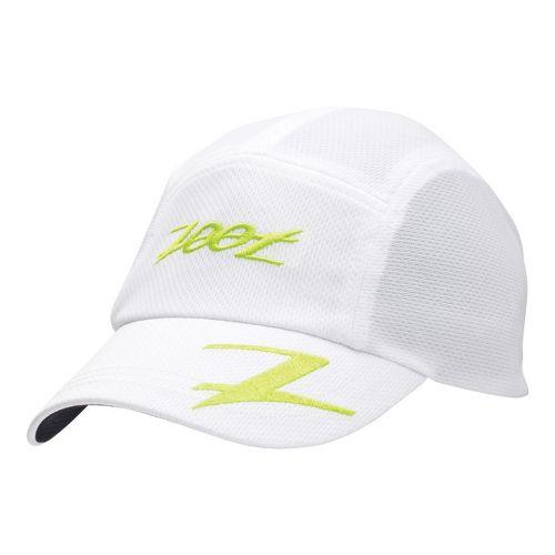 Zoot Performance Ventilator Cap Headwear - White/Volt
