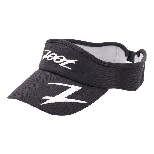 Zoot Performance Ventilator Visor Headwear - Black/White