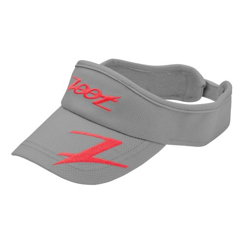 Zoot Performance Ventilator Visor Headwear - Graphite/Poppy
