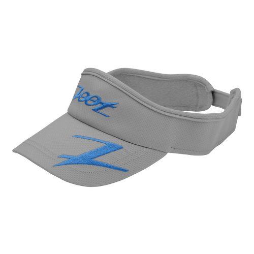 Zoot Performance Ventilator Visor Headwear - Graphite/Zoot Blue