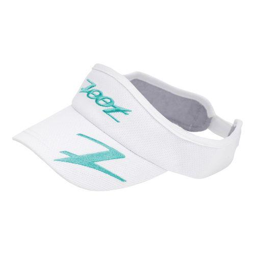 Zoot Performance Ventilator Visor Headwear - White/Aruba