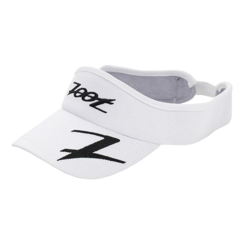 Zoot Performance Ventilator Visor Headwear - White/Black