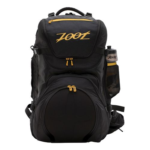Zoot Ultra Tri Bag Bags - Black/Zoot Yellow