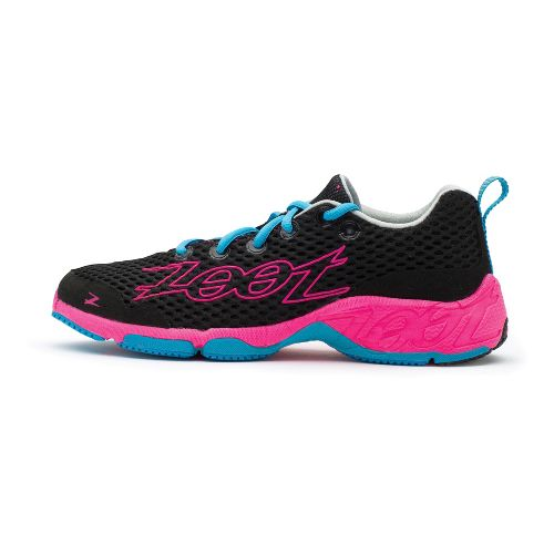 Womens Zoot Banyan Running Shoe - Black/PinkGlo 8.5