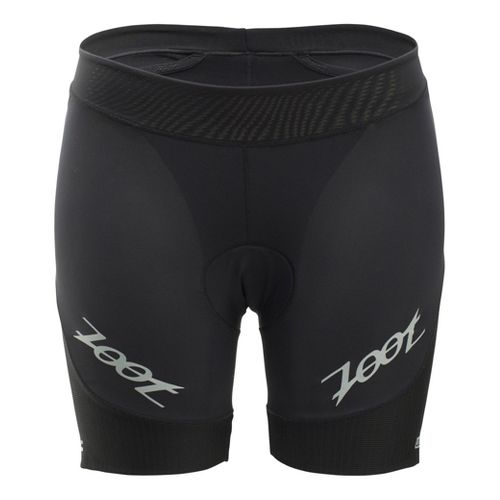 Womens Zoot Ultra Tri 6 Inch Fitted Shorts - Black L