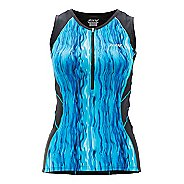 Womens Zoot Performance Tri Tank Sleeveless Technical Tops