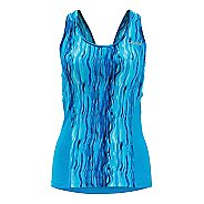 Womens Zoot Performance Tri Cut-Out Tank Tanks Technical Tops
