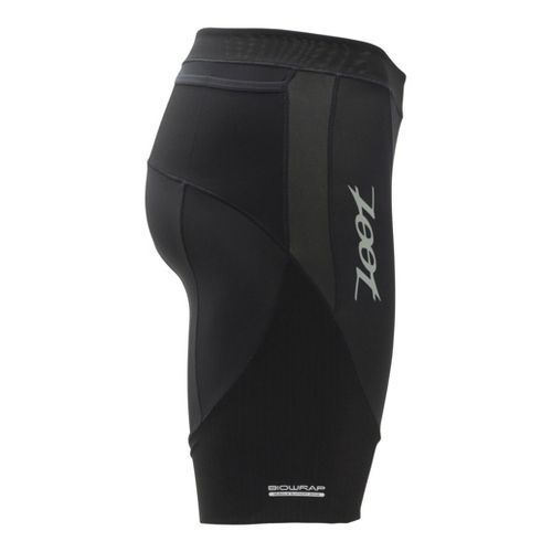 Mens Zoot Ultra Tri 9 Inch Fitted Shorts - Black/Black XS