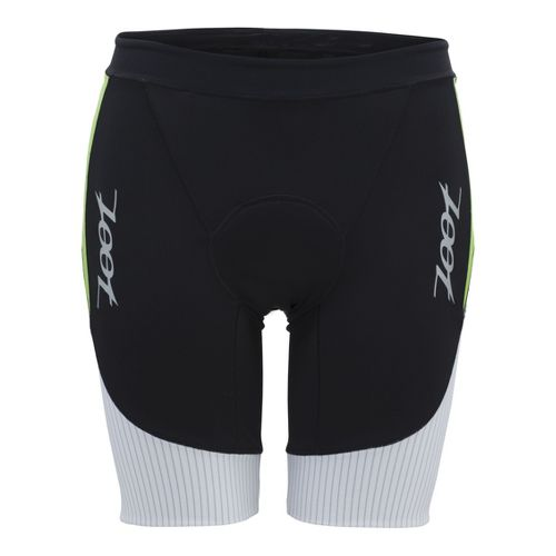 Mens Zoot Ultra Tri 9 Inch Fitted Shorts - Black/White L