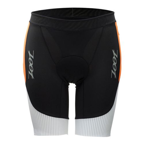 Mens Zoot Ultra Tri 9 Inch Fitted Shorts - White/Blaze XL