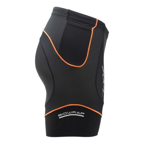 Mens Zoot Performance Tri 6 Inch Fitted Shorts - Black/Blaze M